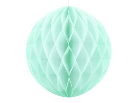 Mint Green Honeycomb Ball Decoration - 30cm